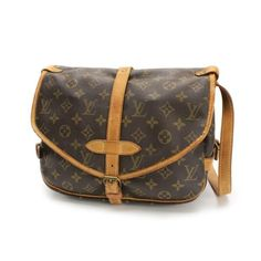 Louis Vuitton Saumur 30 Monogram Cross body bags Canvas M42256