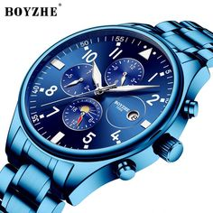 BOYZHE Men Luxury Brand Automatic Mechanical Sports Watches for Men Luminous Waterproof Stainless Steel Leather Watch Cheap Watches For Men, Cool Watches, Independence Day Images Hd, Mechanical Watch, Sport Watches, Fashion Watches, Luxury Branding, Fashion Brand, Picsart Background