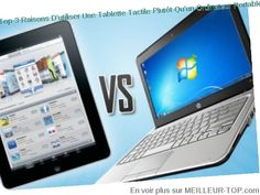 Tablette contre ordinateur portable