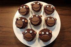 Affenmuffins Schokomuffins Muffins Kindergeburtstag Thermomixrezept Tiermuffins