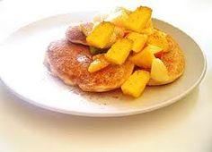 A fluffy GF pancake!  Mango Rice Pancakes   Cooking for Fertility http://www.cookingforfertility.com/fertility-recipe/mango-rice-pancakes/