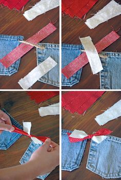 TEACH | All-Occasion Denim Pocket Banner (Part II)