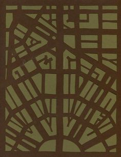 Rug inspired by Detroit's Campus Martius by Lauren Moyer.
