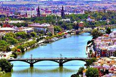 #Sevilla, orgullosa capital de la maravillosa Andalucía.