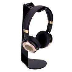 Acrylic L-shape Earphone Holder Headset Stand Headphone Rack for iPhone Samsung