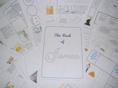 Book of James lapbook - from one of my favorite homeschool bloggers