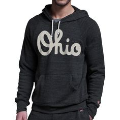 my....precious..... HOMAGE Classic Script Ohio Hoodie Fleece Sweatshirt - $65.00