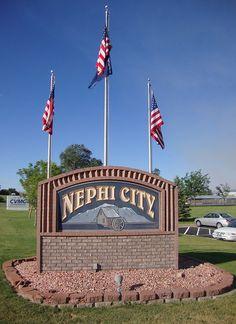 Nephi, Utah - south of Provo