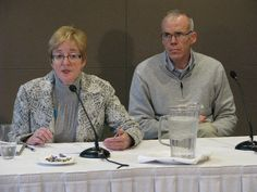 Maude Barlow and Bill McKibben Making Waves, Climate Change, Conference, October