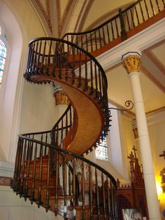 The miracle staircase....  Santa Fe, NM