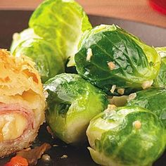 Extra Off Coupon So Cheap Lemony Brussels Sprouts - brussels sprouts lemon juice salt pepper butter minced garlic cloves - Strict Candida Diet Veggie Dishes, Veggie Recipes, Healthy Recipes, Side Dishes, Advocare Recipes, Dishes Recipes, Yummy Recipes, Free Recipes, Yummy Food
