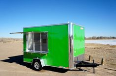 7 x 12 Enclosed Food Truck Concession Trailer Sinks Electric Interior Window | eBay