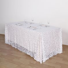 As the table is a core element of any décor, a high-quality tablecloth is needed. Our tablecloths will transform the drearest tables into true showstoppers! Sequin Tablecloth, Tablecloths, Head Tables, Banquet Tables, Bridal Table, Wedding Table, Wedding Ideas, Chair Sashes
