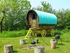Five Go Glamping: Stay in the gypsy caravan used in The Famous Five TV Series