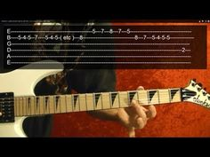 20 MUST LEARN HEAVY METAL RIFFS!! ( 3 of 3 ) Guitar Lesson With Tabs
