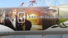 Air New Zealand Air New Zealand, Long White Cloud, Akita, Lord Of The Rings, Tolkien, The Hobbit, Transportation, Aviation, Aircraft