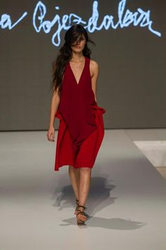 Collection of Andrea Pojezdálová presented during Fashion LIVE! Wrap Dress, Live, Collection, Dresses, Fashion, Gowns, Moda, La Mode, Wrap Dresses