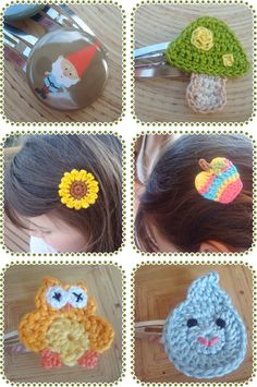 Designer of the Week - A Little Bit Craftsie? In Review - Wild Strawberries and Delicious Red Apple Hair Clips!   KID independent – handmade for kids