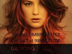 GILT Salon - Ombre hair colour. Ombre hair styles. Hair fashion. #hotd #ombre