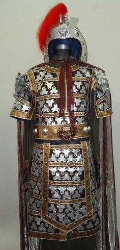Asian ring armour on leather galleries 31