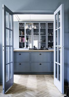 Painting Ideas - Kitchen Cabinet Colors | Apartment Therapy