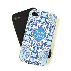 iPhone 4 or 5 Case - Savannah Blue
