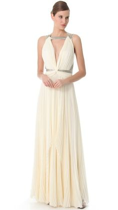 If I could get married again. J.Mendel gown
