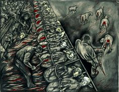 Sue Coe's art
