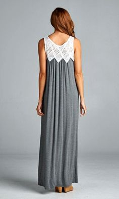 Bethany Dress in Charcoal