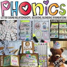 phonics, phonemic awareness, phonetics, fluency, high frequency words, sight words, word families, decoding, blending, letter recognition, alphabet