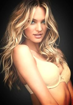 Candice Swanepoel Hair Colour