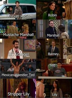 How I Met Your Mother. Doppelgängers. Man, I love this show way to much...