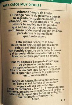 Marta Elena Machon Diaz's media content and analytics God Prayer, Prayer Quotes, Faith Quotes, Wisdom Quotes, Catholic Prayers In Spanish, Miracle Prayer, Catholic Religion, Morning Prayers, Prayer Board