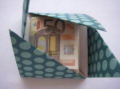Your place to buy and sell all things handmade Heart Origami, Origami Envelope, Origami Boxes, Origami Paper, Iris Folding, Paper Folding, Paper Art, Paper Crafts, Unusual Presents