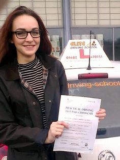 Congratulations to Sara Kidson for passing her driving test on the 17th January 2015.  Well done Sara on a great FIRST time pass and with only 2 minor driver faults.  Well done Sara, now drive safely and enjoy from Driving Instructor John Burgess and the Team at Elite Driving School.