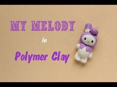 Sanrio My Melody Polymer Clay Charm Tutorial