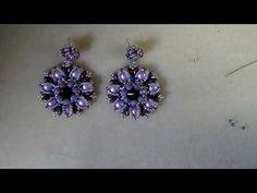 Tutorial orecchini Jessy - YouTube
