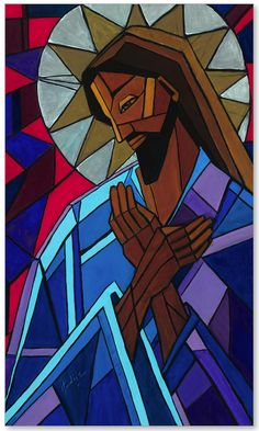 Jesus by Catholic artist-Mary DuCharme
