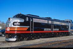 RailPictures.Net Photo: AZER 6070 Arizona Eastern Railway EMD E8(A) at Globe, Arizona by Ted Ellis