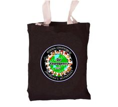 Be Courageous Convention Tote Bag   Regional Convention Tote Bag   JW Convention Bag for Adults   JW Bags   JW Convention gifts   jw baptism