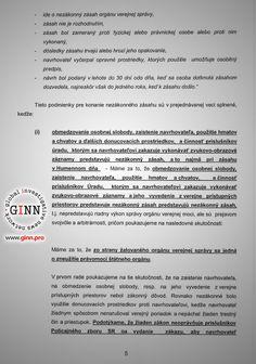 Žaloba GINN vs Robert Kaliňák a Ministerstvo vnútra, strana 5