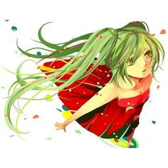 Vocaloid ❤ liked on Polyvore featuring anime, vocaloid and anime girl