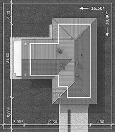 Projekt domu Lemko Termo 187,63 m2 - koszt budowy - EXTRADOM Bar Chart, Architecture Design, Construction, Exterior, How To Plan, My Favorite Things, Houses, Cottage, Home Plans
