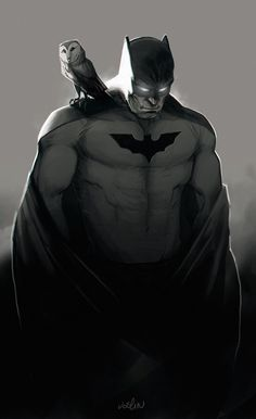 Batman by ~joslin on deviantART