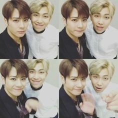Rap Monster and Jackson ❤ Rapson back again! BTS + GOT7! ARMYs + Ahgase! YAS! RAPSON at the 31st Golden Disc Awards! (jacksonwang852g7 IG Video Update) #BTS #방탄소년단
