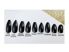 Matte burgundy Press on nails - DARK collection. Choose your favourite shape: long stiletto, long coffin, medium stiletto, medium coffin, stiletto, coffin, almond, oval or round (long coffin shape pictured). All press on nails from my shop are shaped and hand painted with gel for the