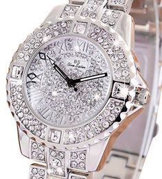 Women Casual Watches Female Diamond Wristwatch Quartz Watch Fashion ladies wrist #chinget