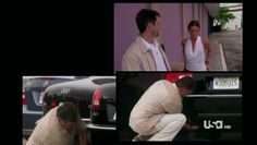 """Burn Notice 4x12 """"Guilty as Charged"""" - Fiona Glenanne (Gabrielle Anwar), Sam Axe (Bruce Campbell) & Rudy (Tommy Groth)"""