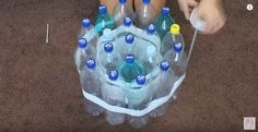 Strengthen The Base | Recycle Plastic Bottles To Make A Stylish Stool