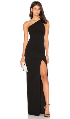 Shop for SOLACE London Petch Dress in Black at REVOLVE. Free day shipping and returns, 30 day price match guarantee. Black Tie Wedding Guest Dress, Black Tie Wedding Guests, Black Wedding Dresses, Long Black Dresses, Dress Long, Gala Dresses, Event Dresses, Dress Outfits, Fashion Dresses